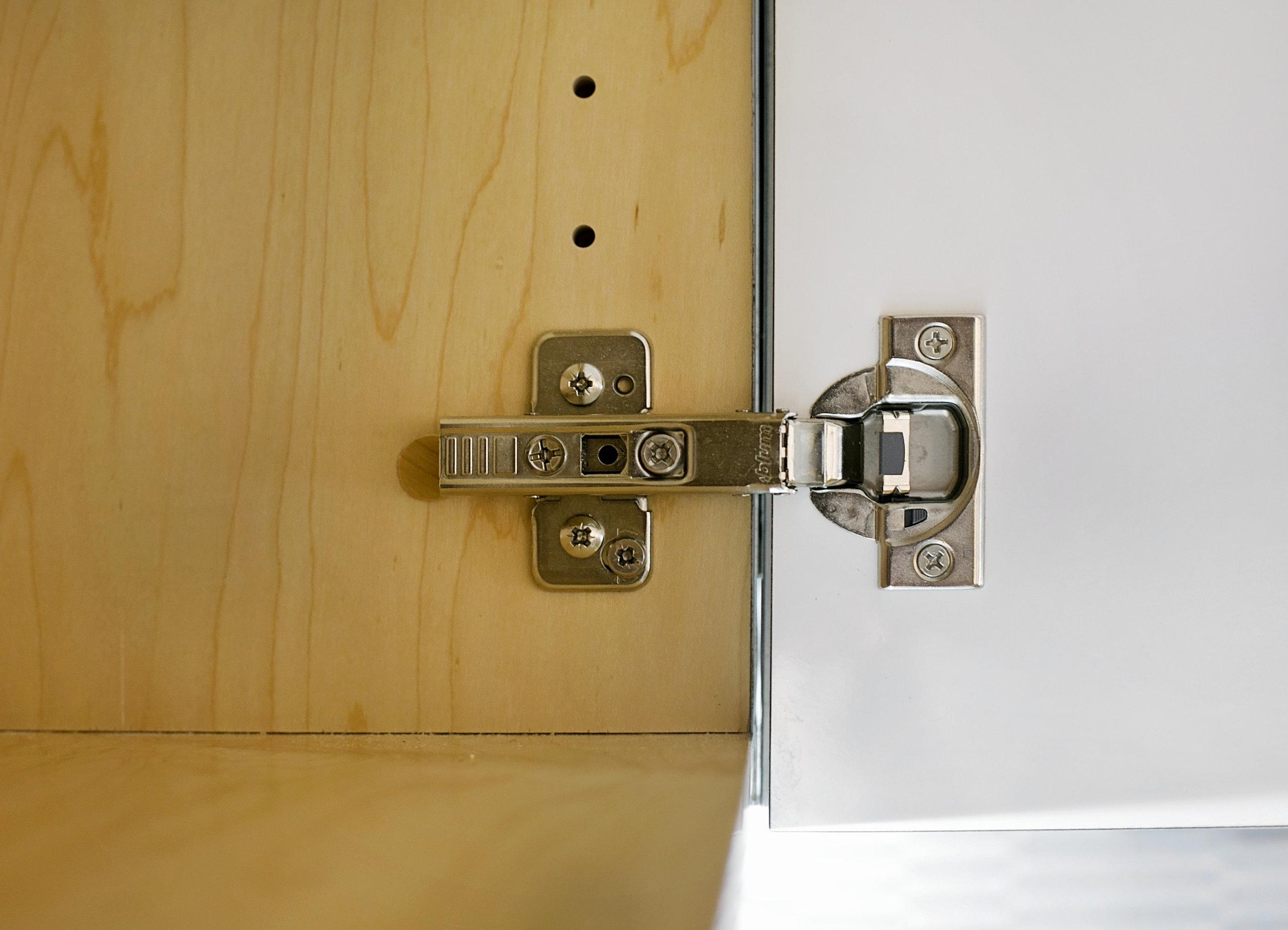 hardware - We can repair or upgrade bathroom hinges and drawers tracks.