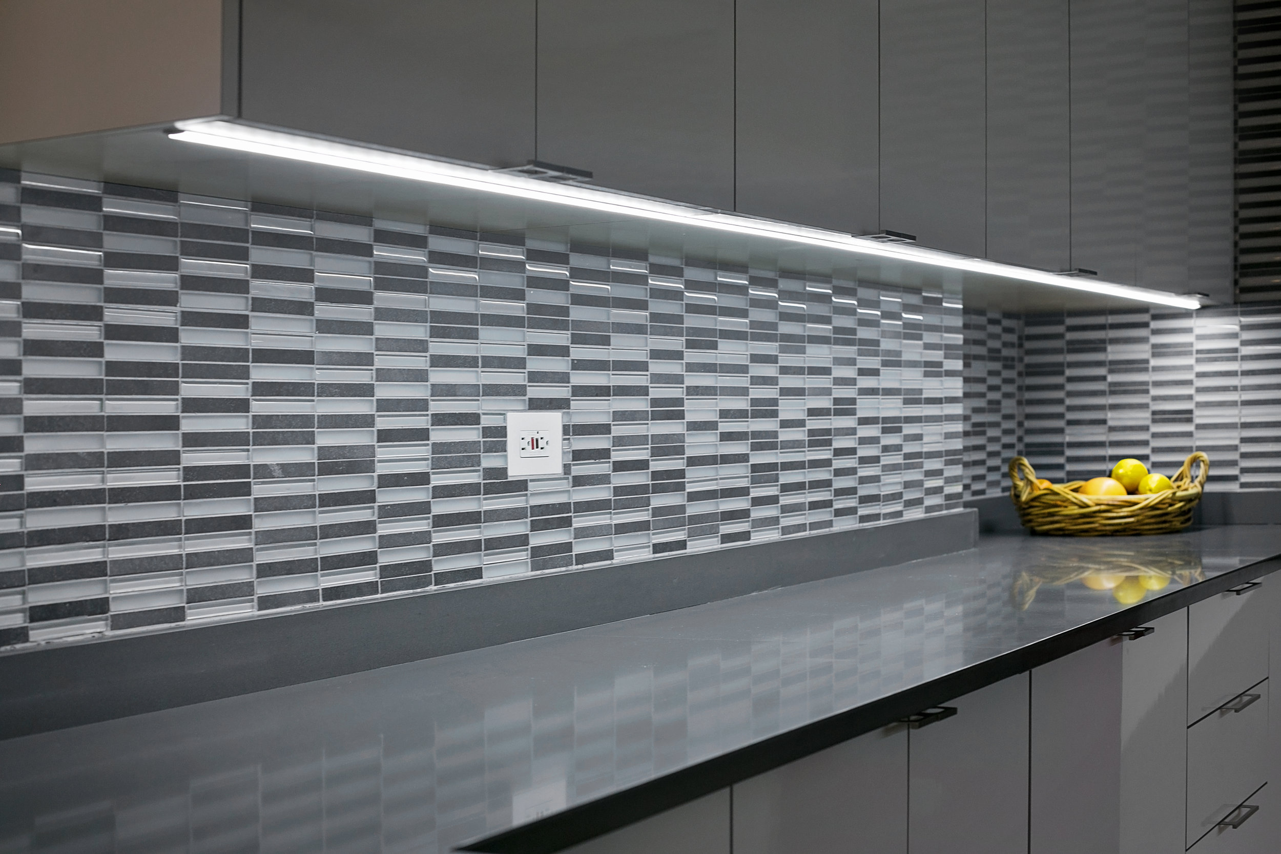modern - High gloss finish is a great way to open up a room.