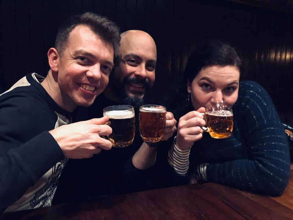 Mini beers in Edinburgh!