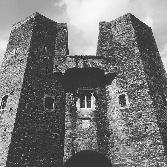 Berry Pomeroy / Today we went ghost hunting. . . . . . . . . #ghosts #castle #devon #haunted