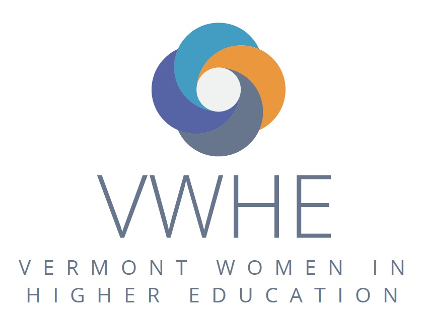 Image Description: VWHE: Vermont Women in Higher Education