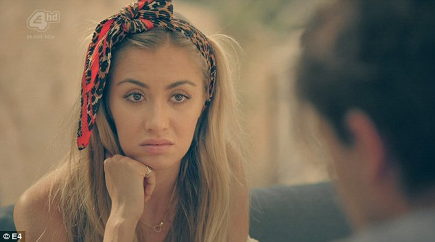 Sophie Habboo wearing the Animal Print Headscarf on the current Season of 'Made In Chelsea Croatia'