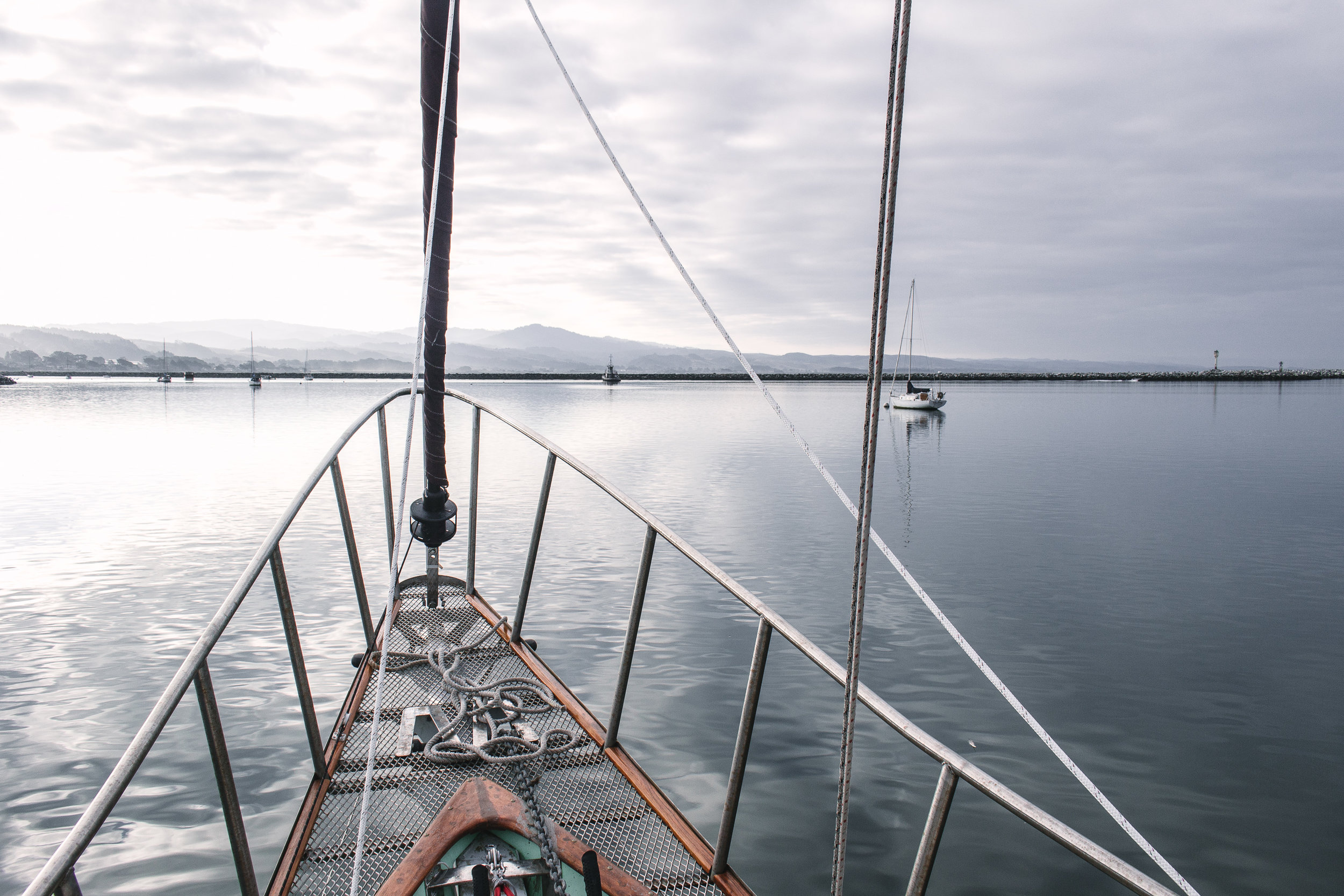 Halfmoon Bay Anchorage.