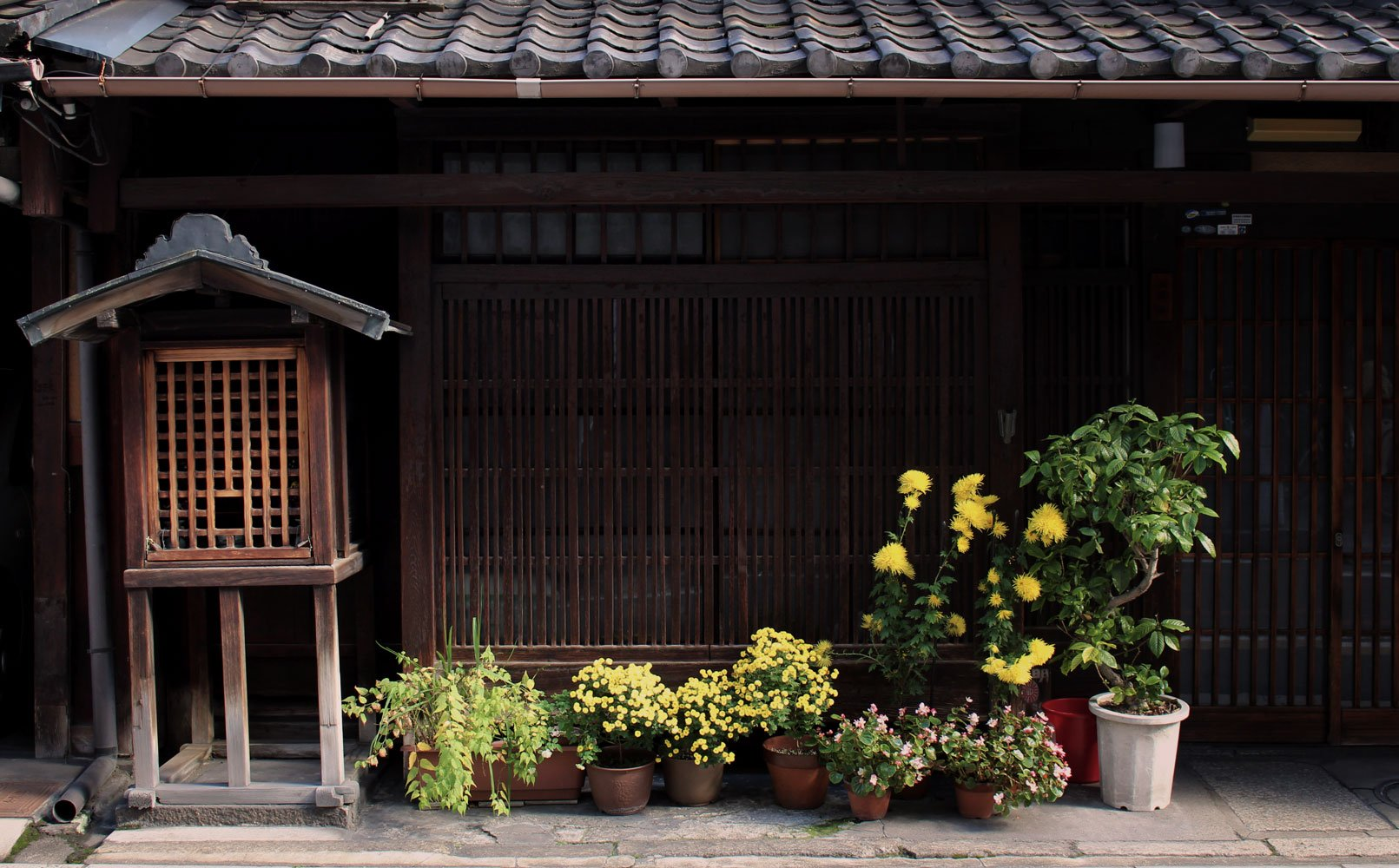 A little scene from the streets of Kyoto.