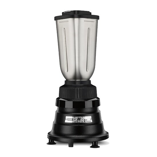 Small Stainless Steel Blender - just the right size for two & the stainless jar makes it safe for hot drinks