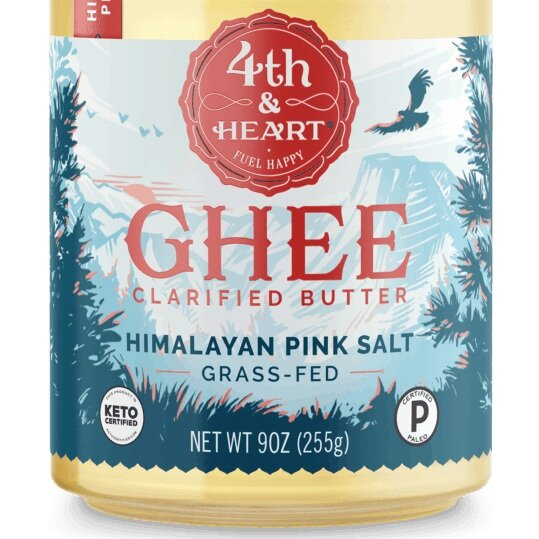 Ghee - This grassfed ghee is the best I've tried. It makes great chocolate.