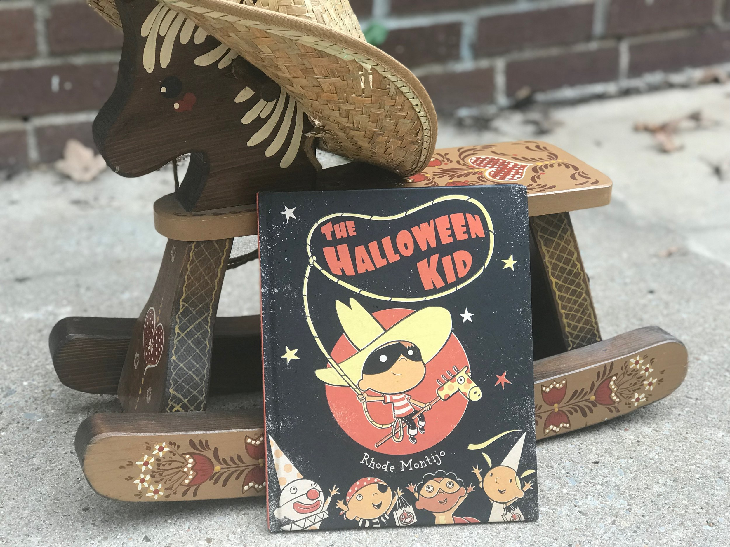 Sign up for the giveaway below and subscribe to our e-mail list for a chance to win The Halloween Kid.