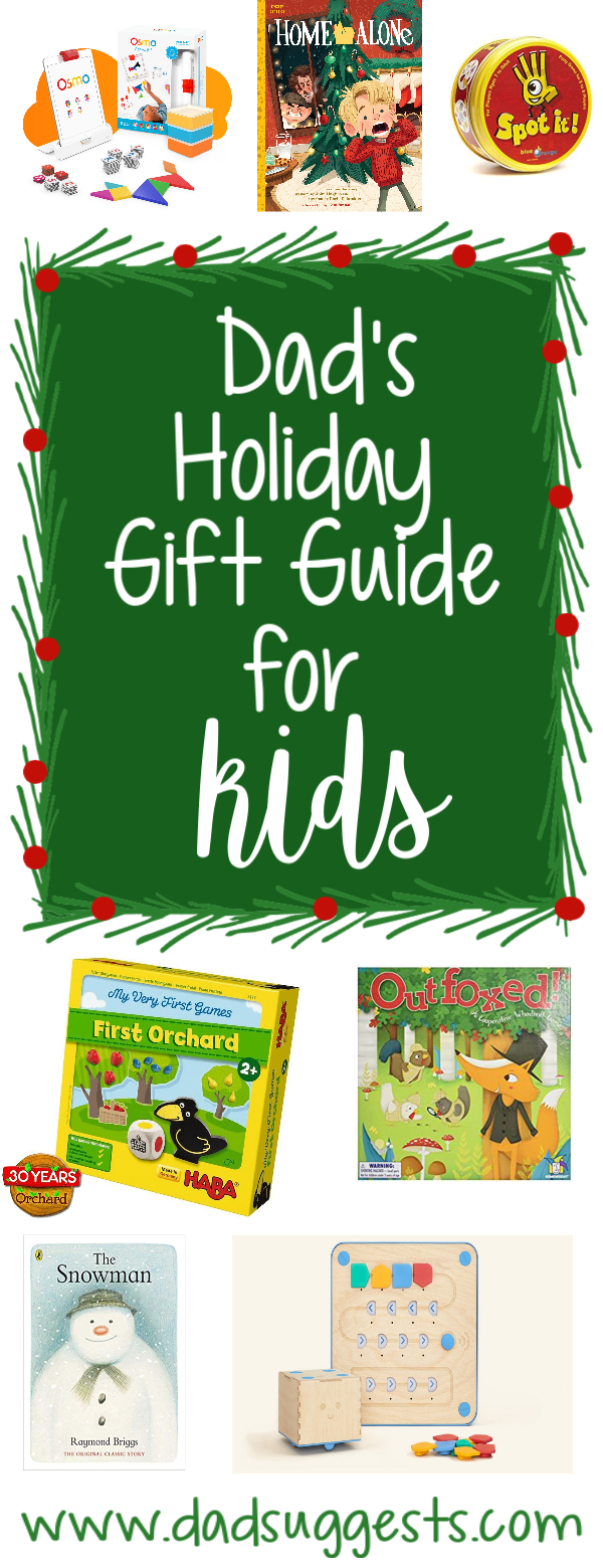 A collection of the best toys, games, and books to stuff your stockings or place under your tree this Christmas! #christmasbooks #christmas #christmaslist #christmasshopping #familychristmas #dadsuggests