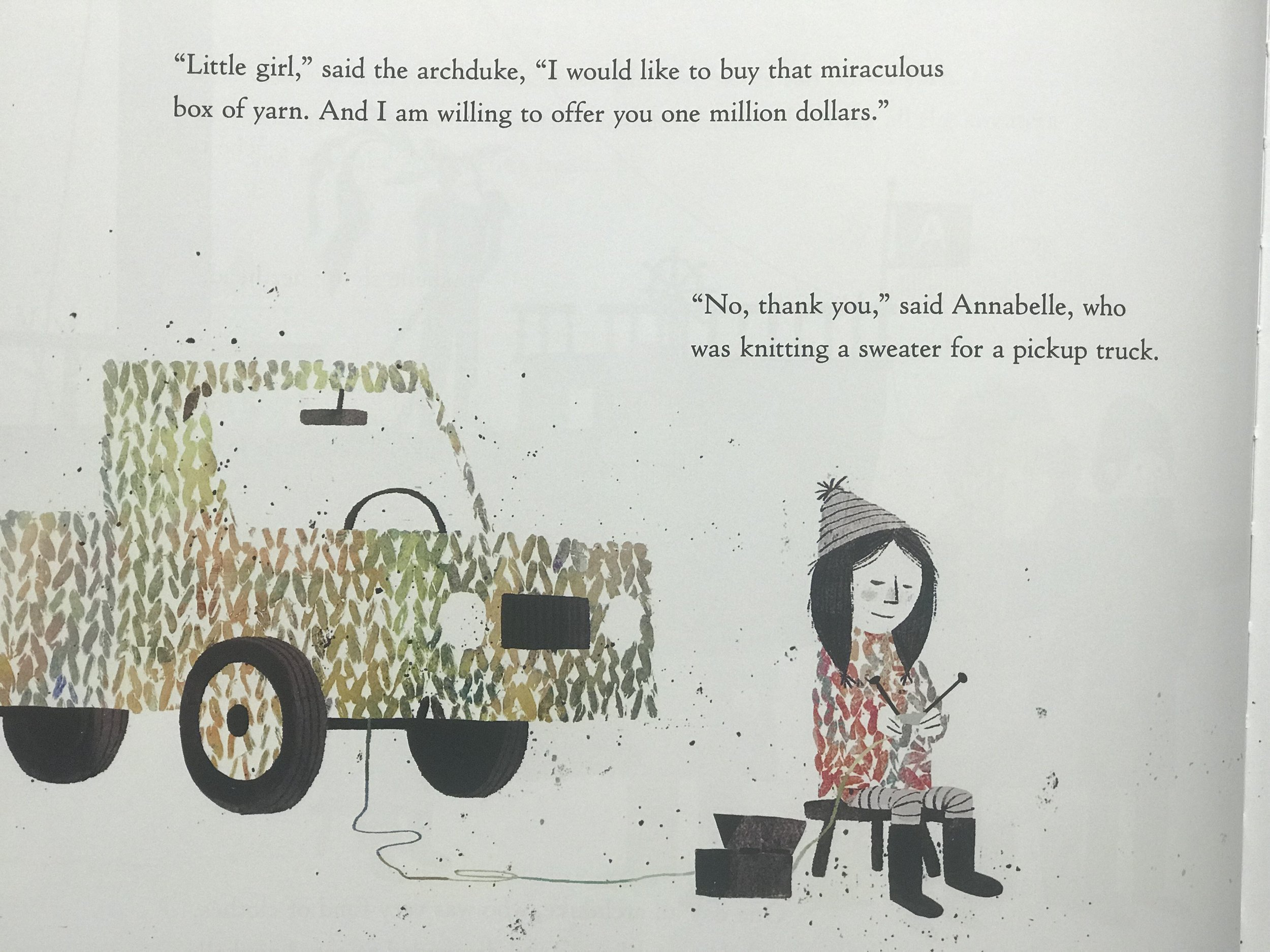 """- """"Of course this drives home the point that Annabelle has found something that makes her truly happy, something truly magical, and money can't buy her happiness."""""""