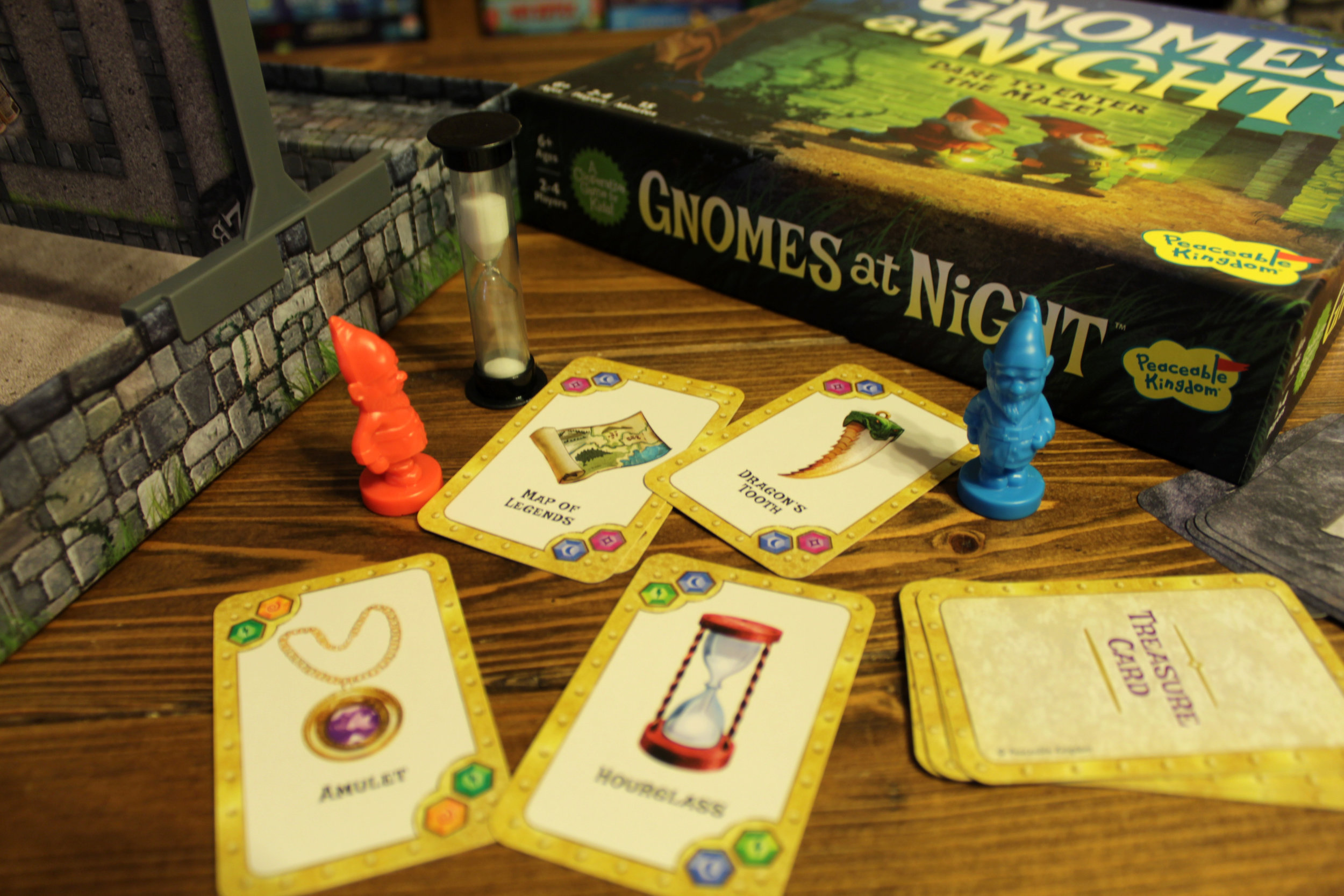 Gnomes at Night by Peaceable Kingdom - Cooperative Family Board Game
