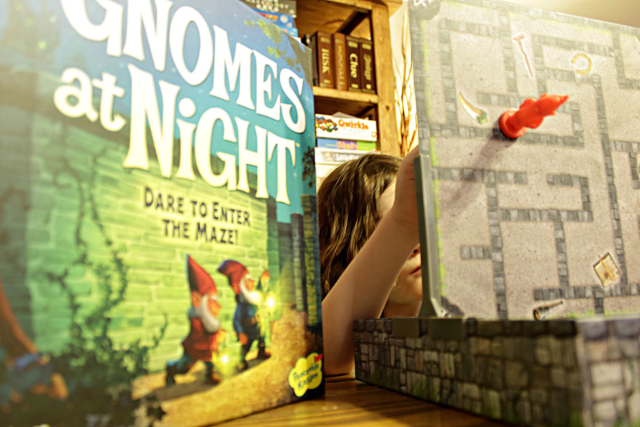 Gnomes at Night - Cooperative Family Board Game by Peaceable Kingdom