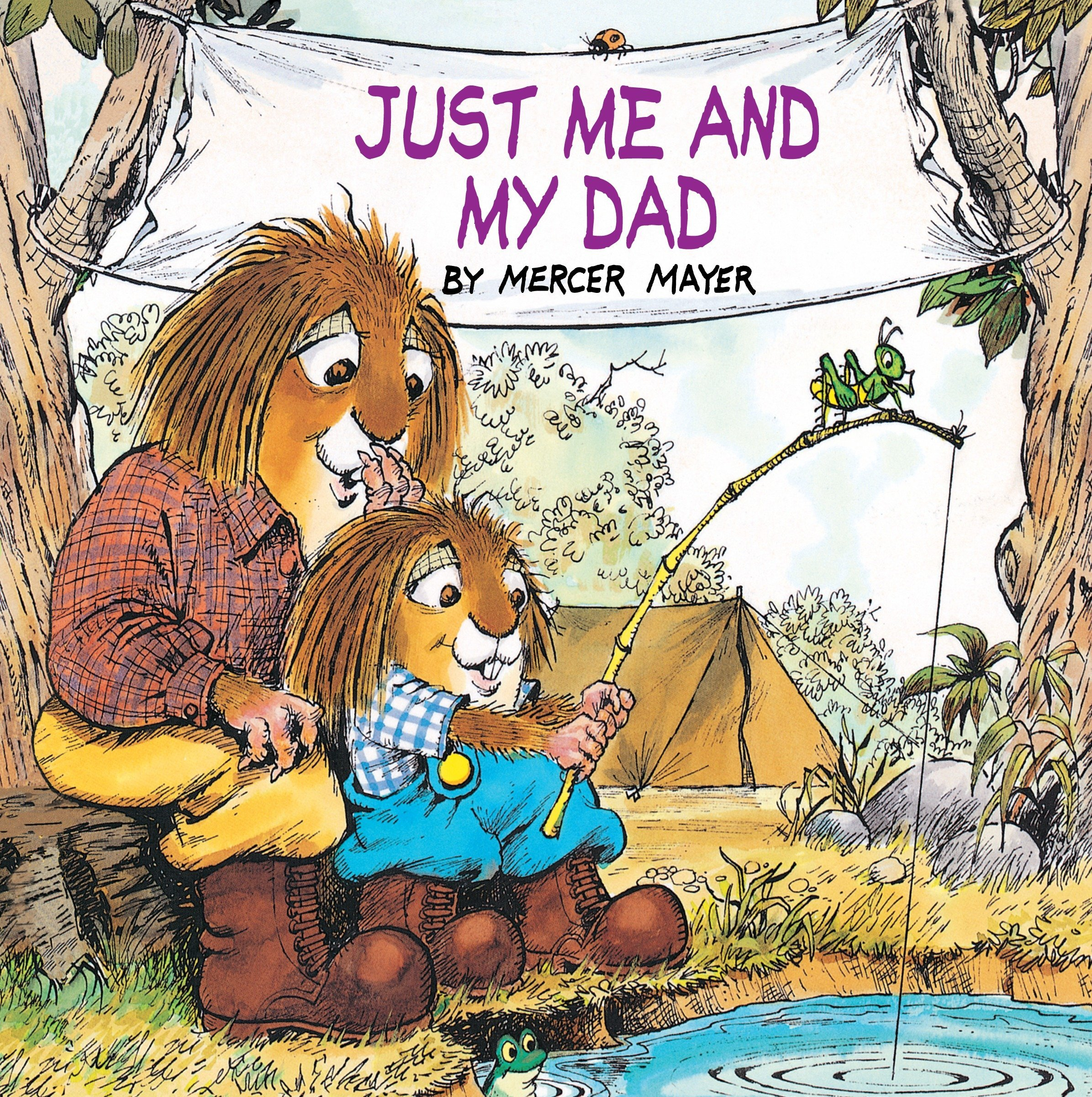 the best Father's Day Picture Books - Just Me and My Dad Little Critter.jpg