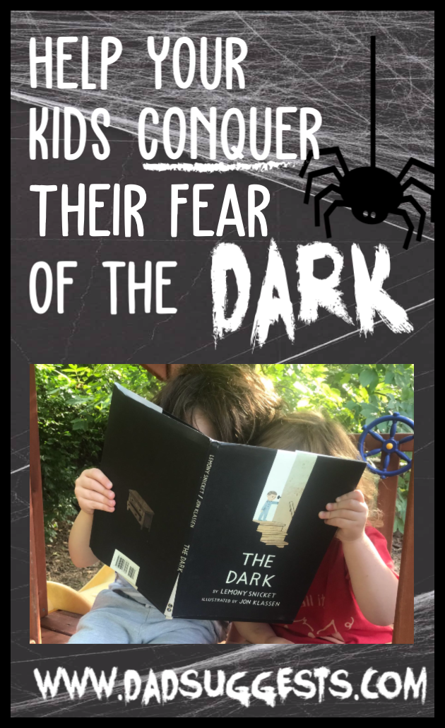 Help your kids conquer their fear of the dark with picture books. Lemony Snicket and Jon Klassen's children's book  The Dark  is not only spooky, but it's a great way to help children face their fear of the dark. #picturebooks #scarybooks #raisingkids #parenting #dadsuggests