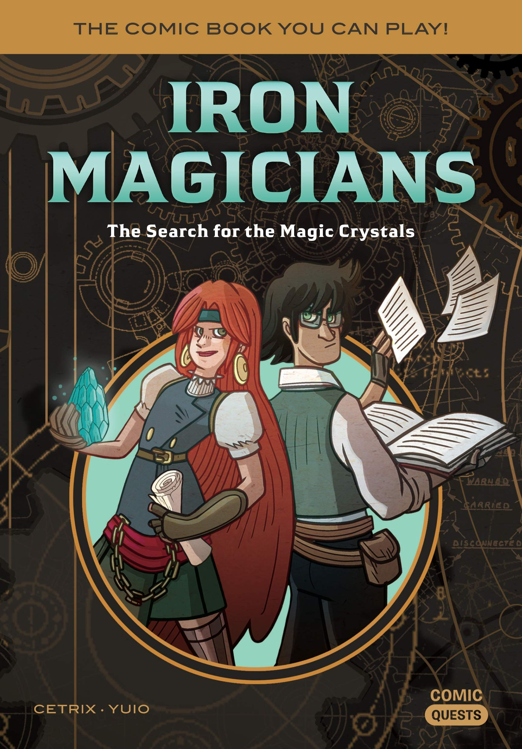 Comic Quests - Kids books you can play - iron magicians.jpg