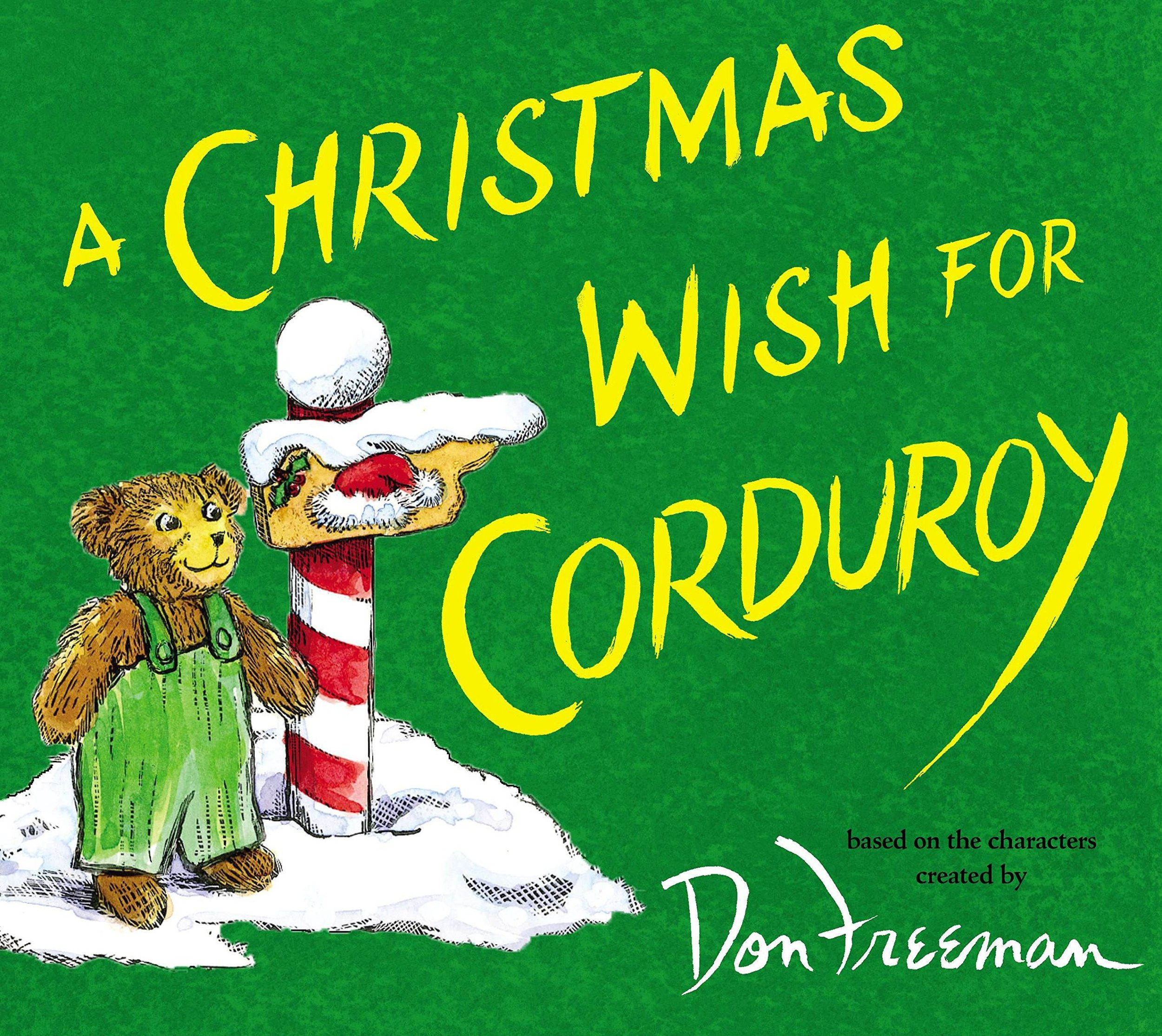 The Best Christmas Picture Books  - A Christmas Wish for Corduroy.jpg