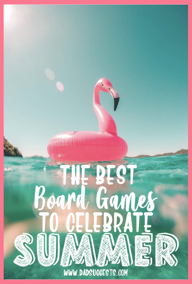 These are the best board games to celebrate summertime. Featuring themes like selling lemonade and catching fireflies - these family games bring back the summer nostalgia in a big way. #HABA #boardgames #gamewright #kidsgames #familygames #summertime #familygamenight #dadsuggests