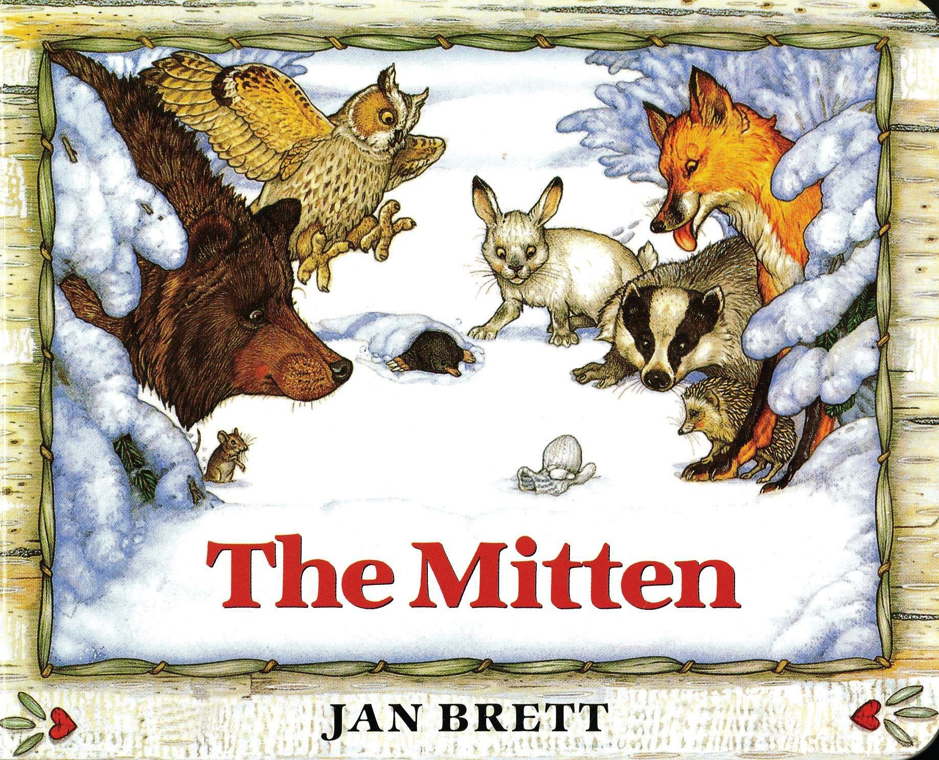 The Best Picture Books for a Snowy Day - The Mitten.jpg