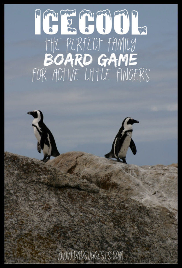 ICECOOL and ICECOOL2 are the perfect family board games for active little fingers. They are dexterity games where you actually flick the penguins around the board. This is a fantastic choice for family game night. #ICECOOL #braingames #familygamenight #kidsboardgames #bestboardgames #giftsforkids #dadsuggests