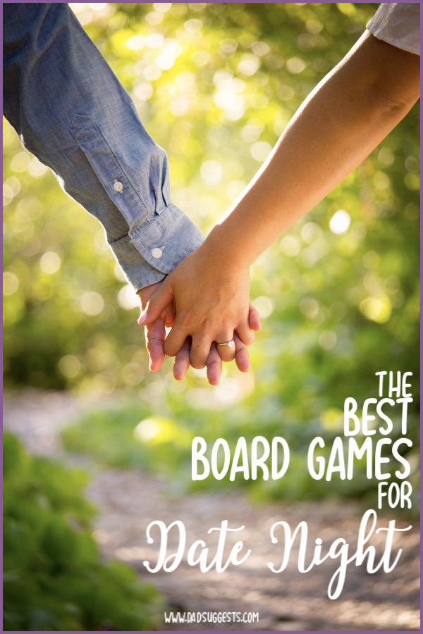 These are the best 2-player family board games to play for date night. Or even just the best 2-player family board games, period. When the kids are out of the house, or when they're asleep, these are the family games we reach for time and time again. #twoplayergames #boardgames #familyboardgames #datenightideas #familygamenight #familygames #dadsuggests