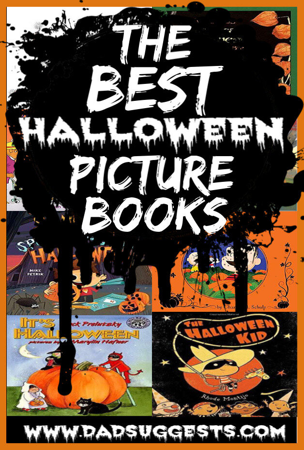 These are the very best picture books about Halloween. Share these books with your kids to celebrate the Halloween season. These stories for your family will absolutely deliver Halloween nostalgia. #halloween #familyhalloween #halloweenbooks #besthalloweenpicturebooks #picturebooks #kidsbooks #dadsuggests