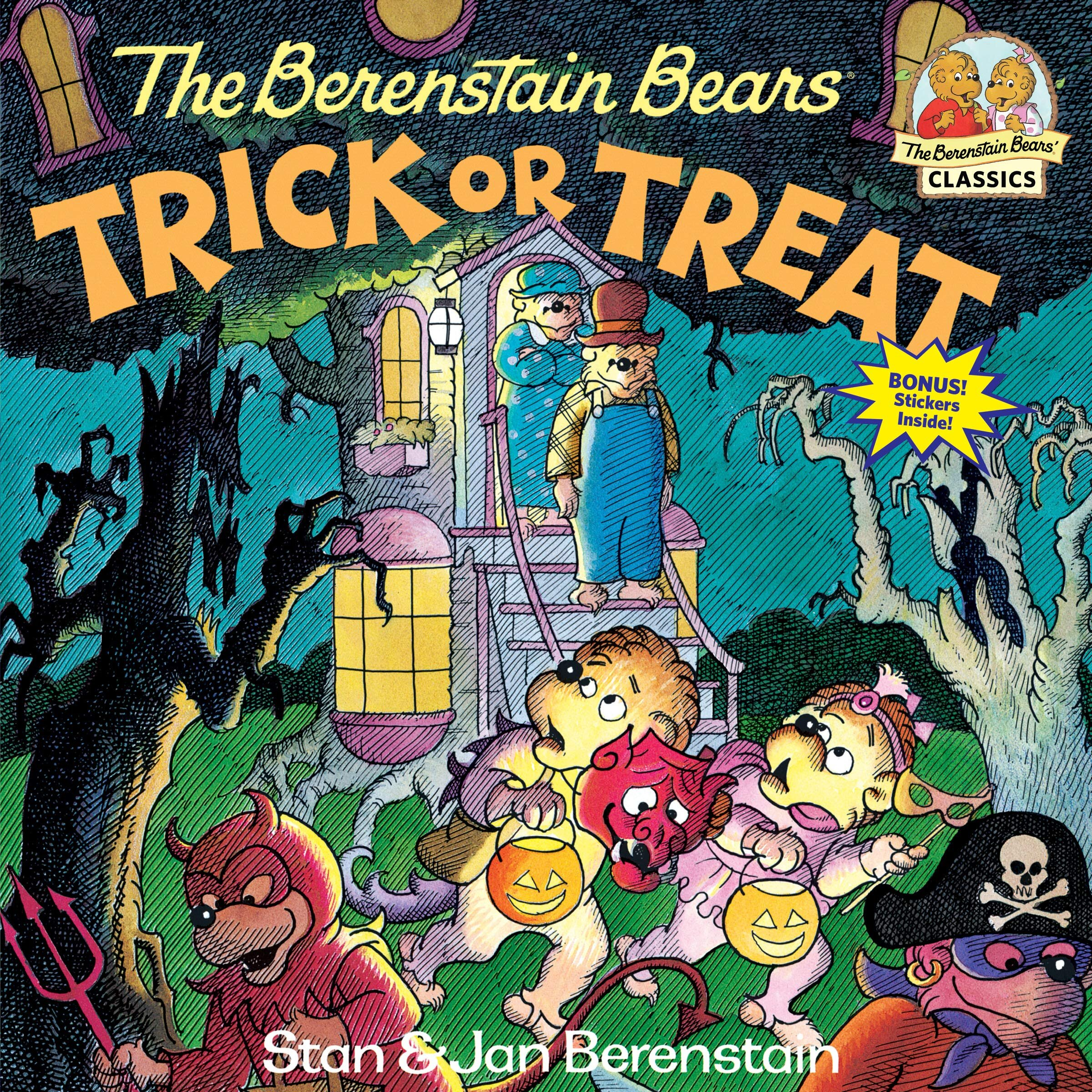 The Best Halloween Picture Books - Berenstain Bears Trick or Treat.jpg