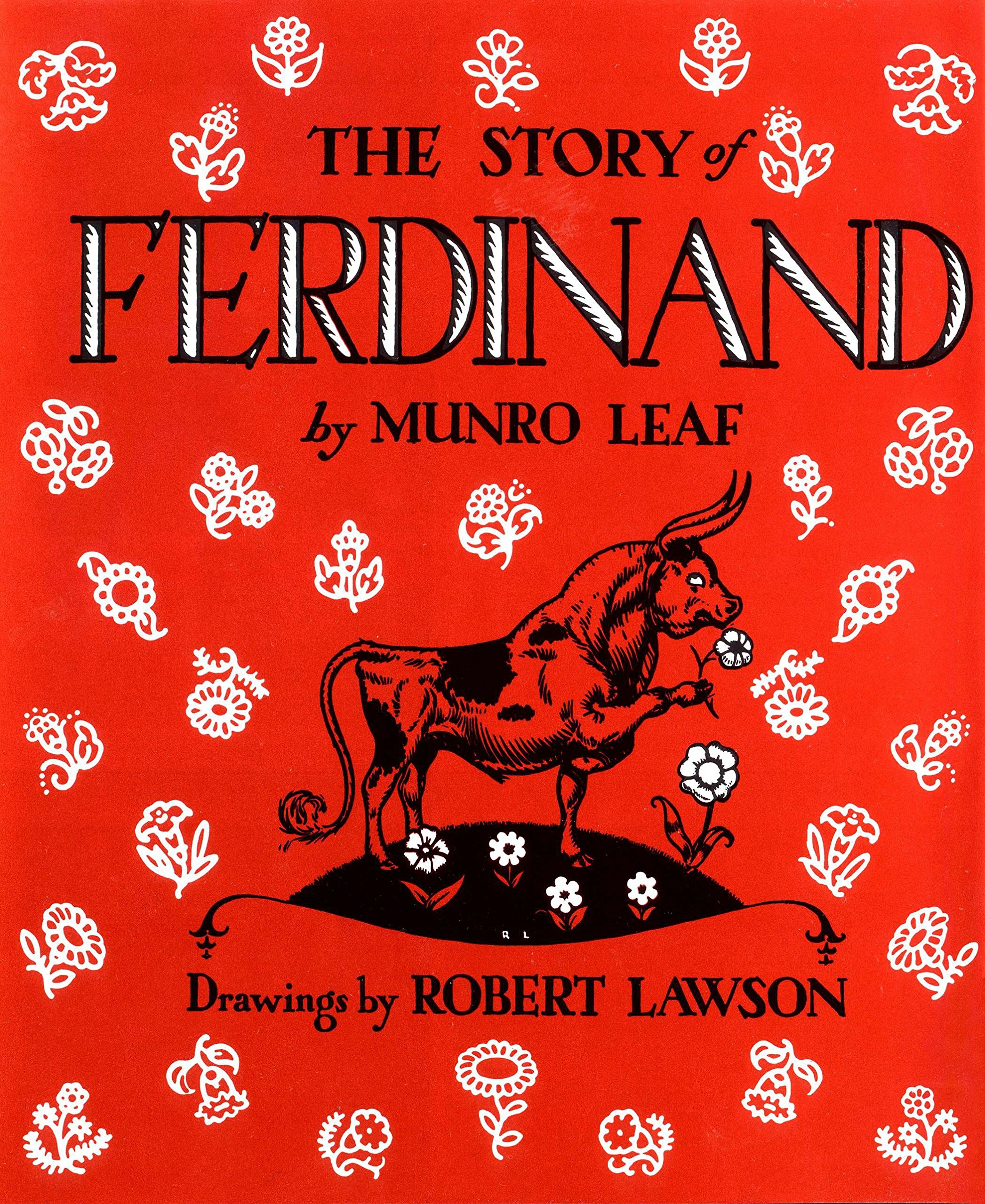 The Best Picture Book Characters of All Time - The Story of Ferdinand.jpg