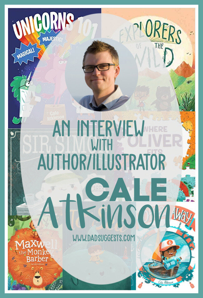 We interview picture book author and illustrator Cale Atkinson. Cale is the creator of several beautiful books - including the amazing  Sir Simon: Super Scarer . It's a family favorite, and our new favorite ghost story. Find out more about Cale's inspirations and creative process, and what's up next for  Sir Simon . #picturebookinterview #picturebooks #sirsimonsuperscarer #caleatkinson #kidsbooks #halloweenbooks #authorinterview #dadsuggests