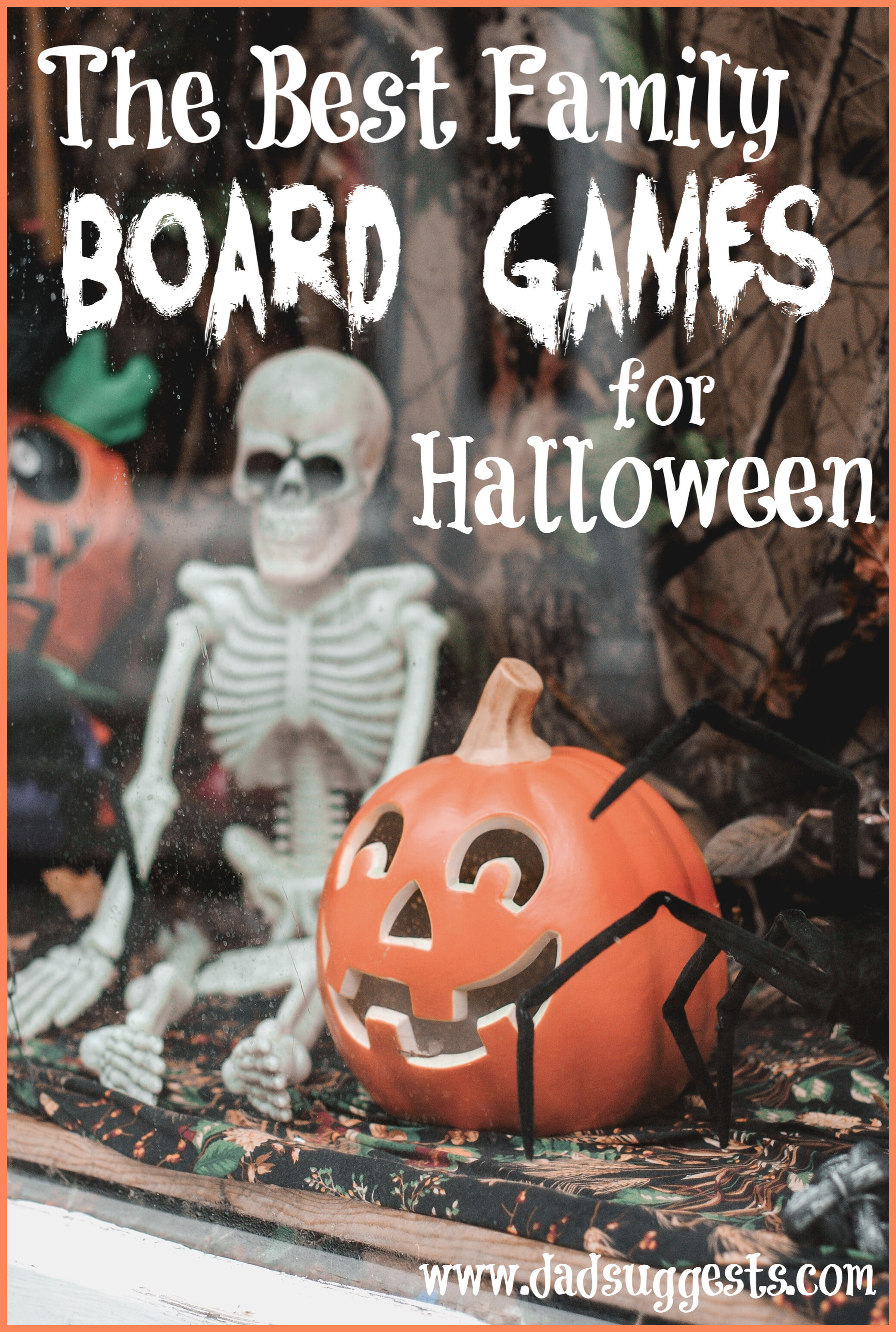 The best Halloween family board games. If you want to set a spooky atmosphere and Halloween mood during your next family game night, make sure to check out these spooky board games. #halloweenboardgames #halloweengames #familygamenight #familyboardgames #kidsboardgames #familyhalloween #dadsuggests