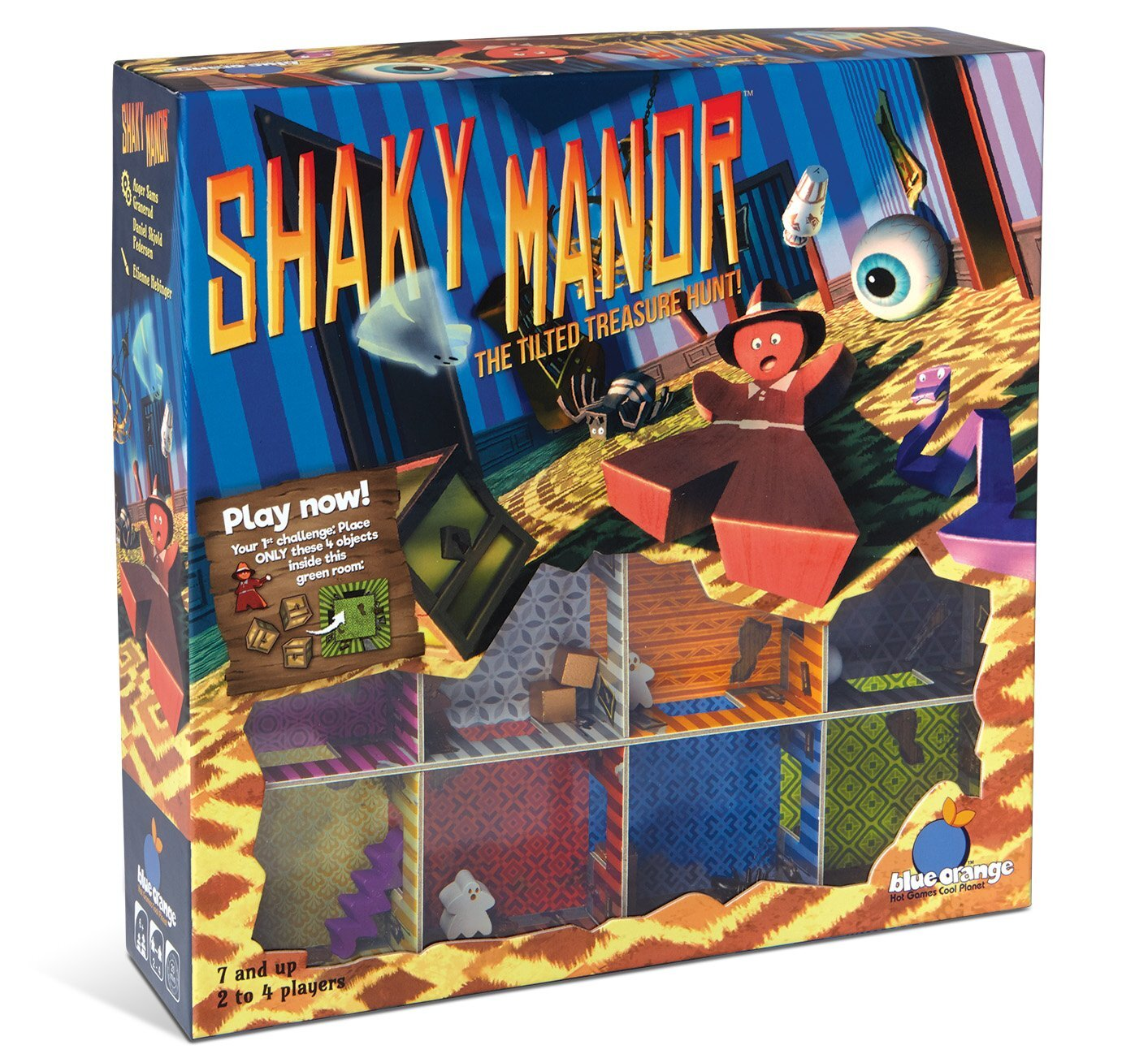 The Best Halloween Board Games for kids  - shaky manor.jpg