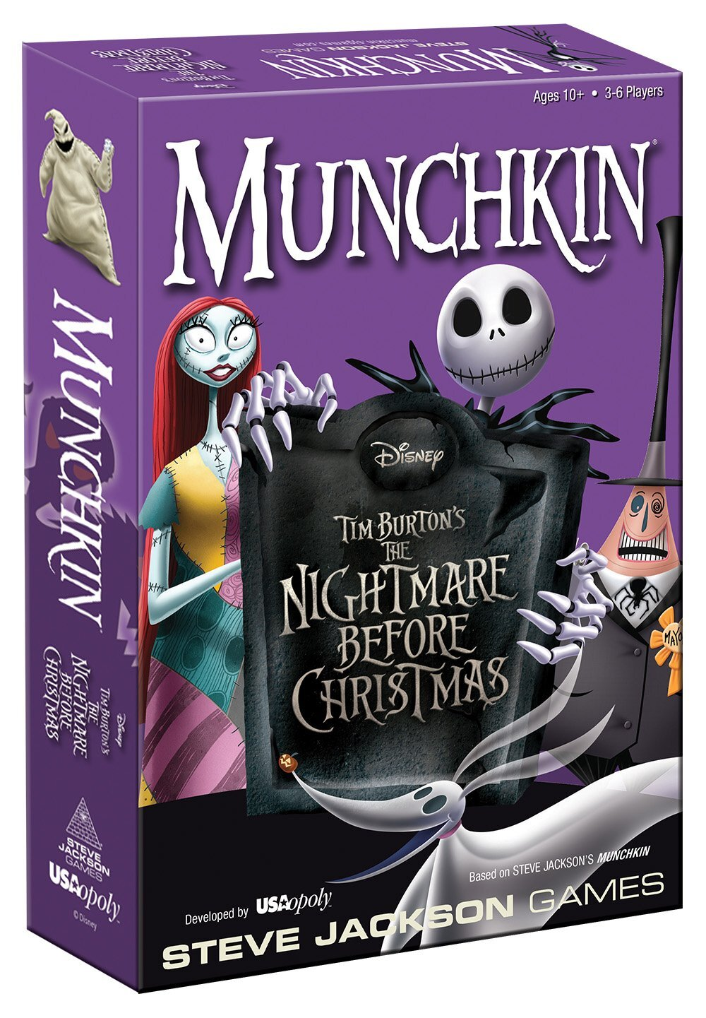 The Best Halloween Board Games for kids  - munchkin nightmare before christmas.jpg