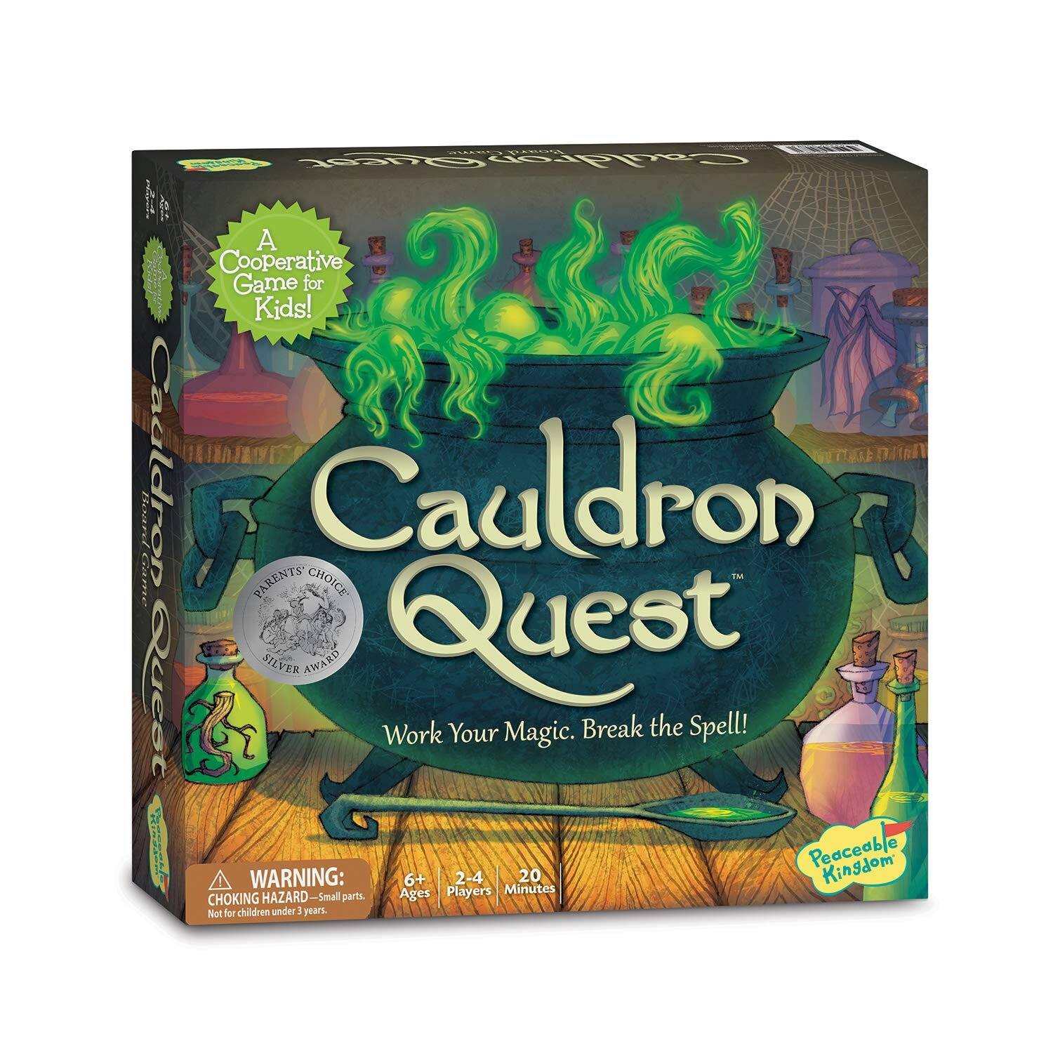 The Best Halloween Board Games for kids  - cauldron quest.jpg