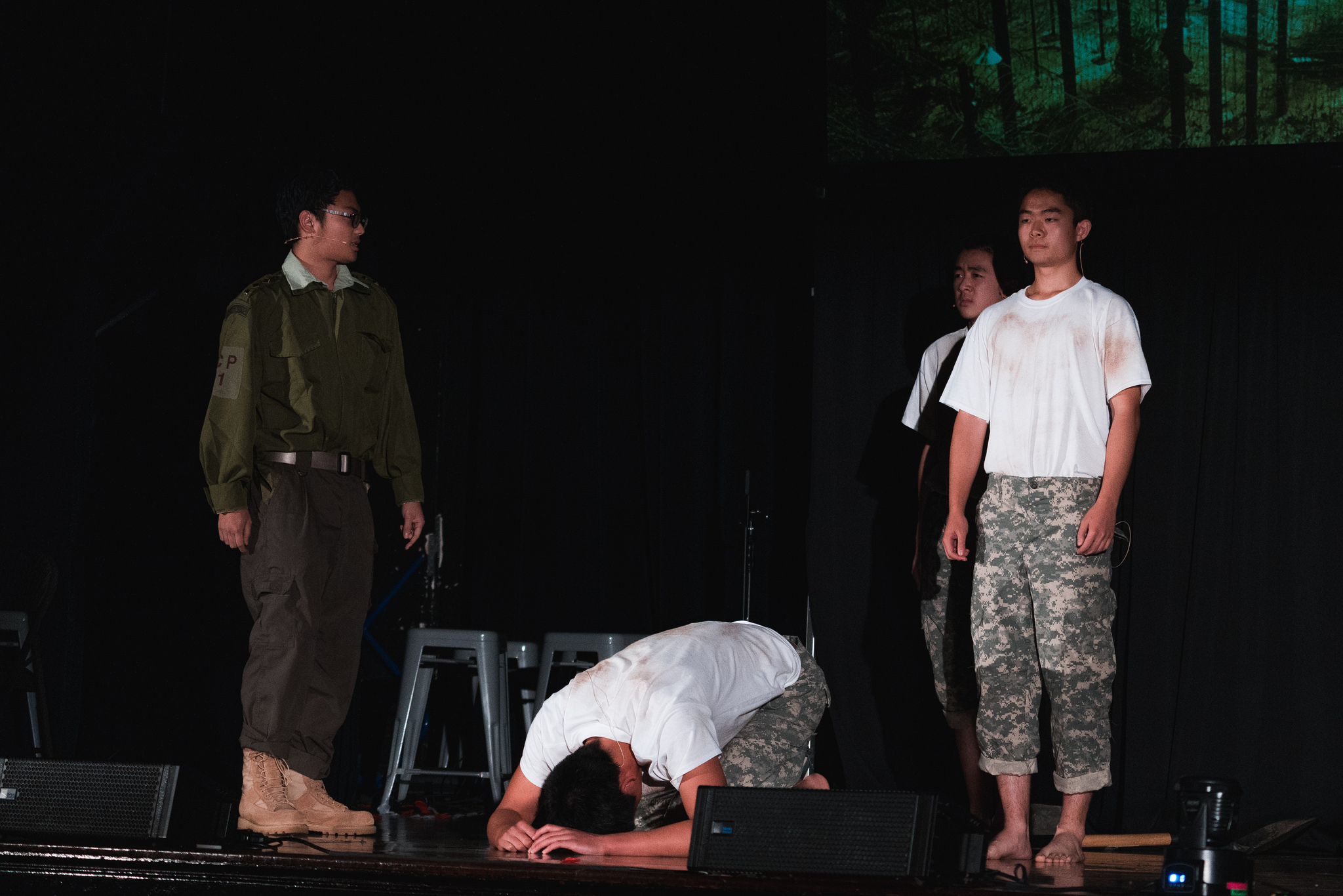 The sacrifice of one prisoner of war for another, an innocent man paying the debt of his guilty friend