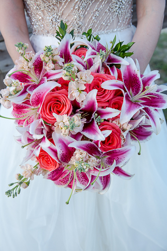 Tybee island beach wedding wedding package wedding flowers stargazer lily