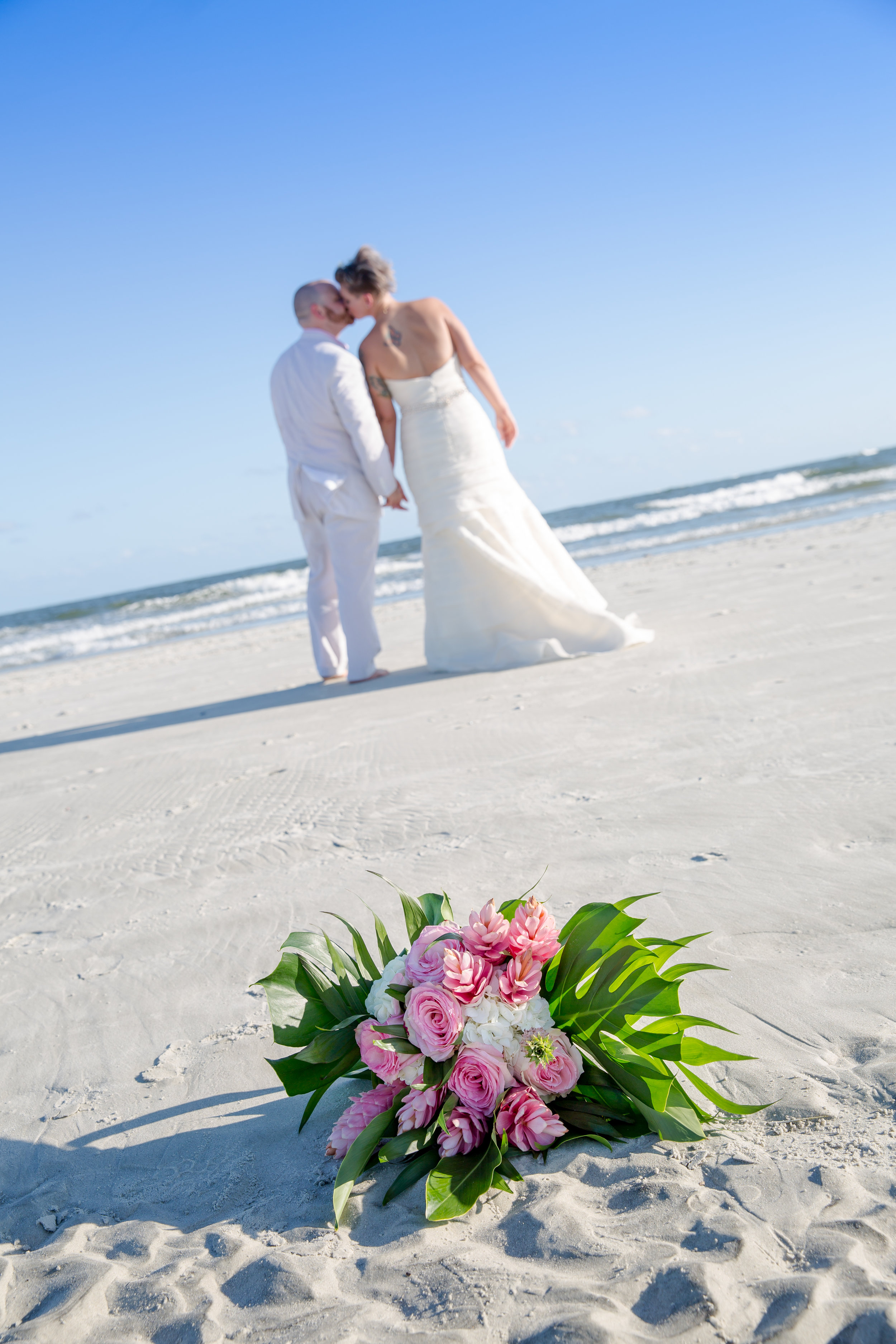 All inclusive beach wedding package