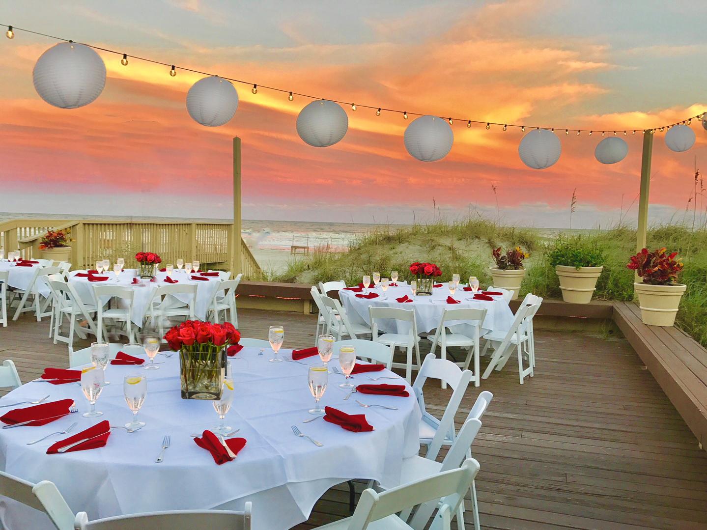Dunes House Oceanfront wedding venue hilton Head Island Sc