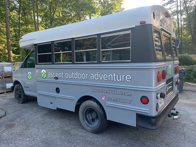 It's been a long time coming!  Roof sealed, sand, bondo, sand, paint, sand, paint, decals. Bam. New floor and seats reinstalled. Lights on top for setting camp at night. Who's ready ride?!? #adventuretogether