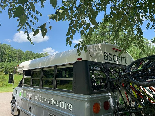 Ascent Mtn Bike Week!  Freedom Park in Williamsburg was A mazing. Finished the day with GoApe and great laughs.  Can't remember laughing so hard my side hurt. So Good. #adventuretogether #ascentoutdoor