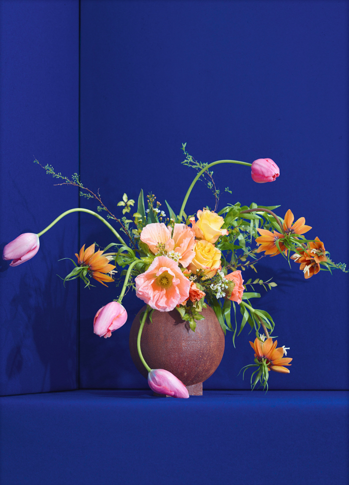 Blomst 01 / Blue, €40  —Uffe Buchard, Paper Collective