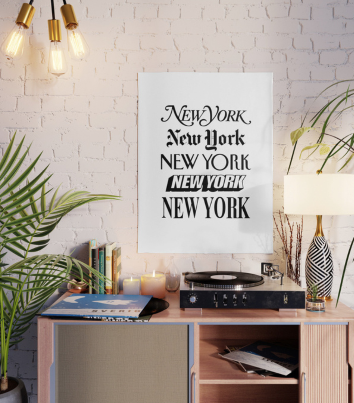 New York, $20  —The Motivated Type, Society6
