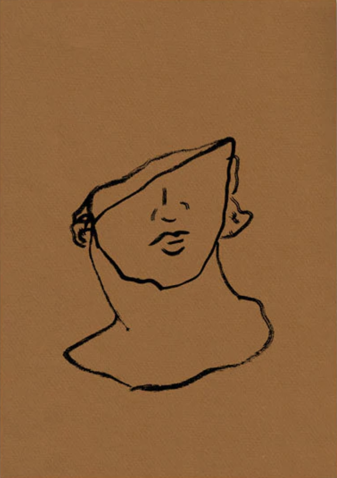 Broken Bust on Copper, $99  —Kate Arends, Wit & Delight