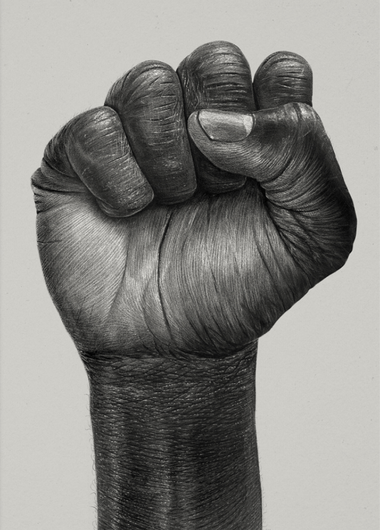 Raised Fist, €29  —Børge Bredenbekk, Paper Collective