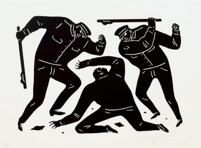 Civil Rights (Black Edition), $280  —Cleon Peterson, Artsy