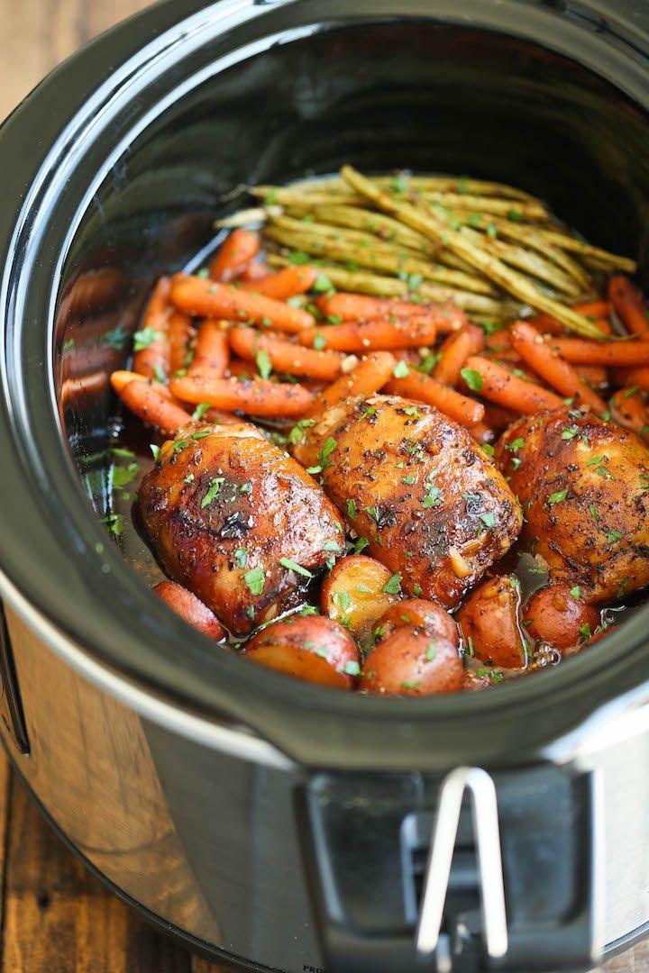 Honey Garlic Chicken & Veggies -