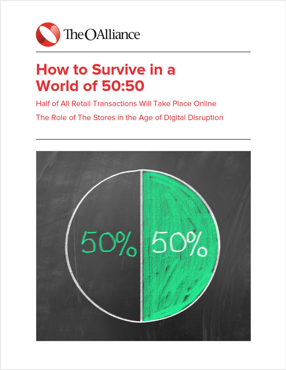how to survive in a world of 50:50 - October 6, 2015