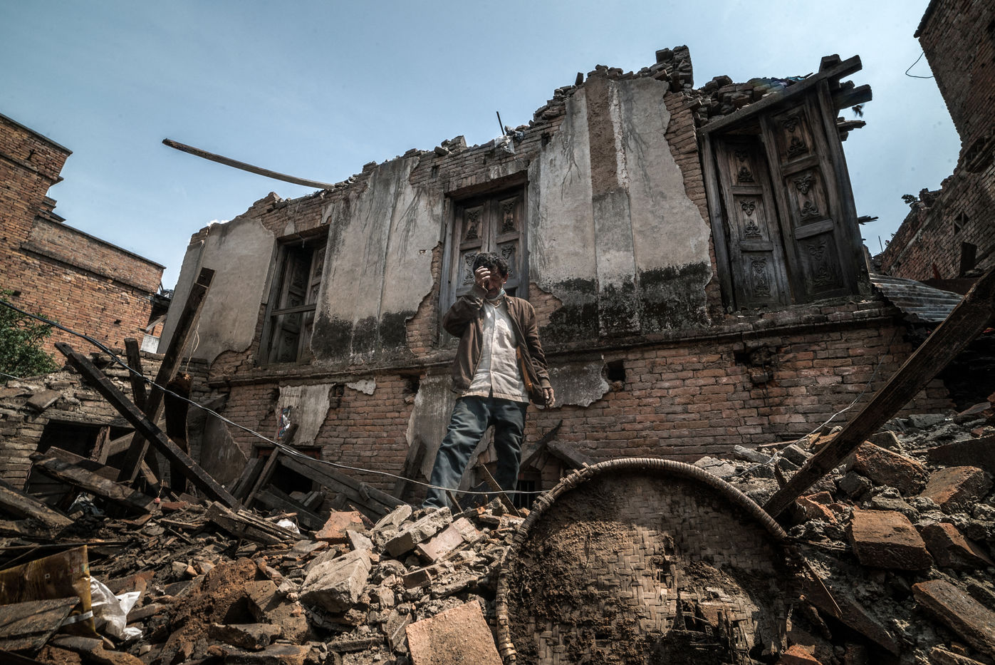 NEPAL EARTHQUAKE 2015 - AFTERMATH