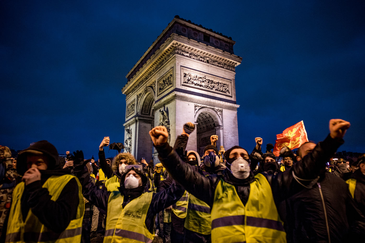 State of insurrection - Yellow vests - Paris