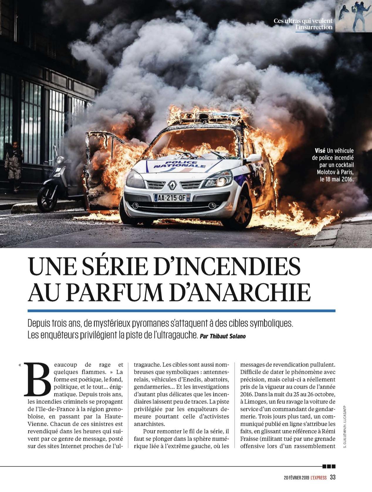 PUBLI - Express -  voiture police en feu.jpg