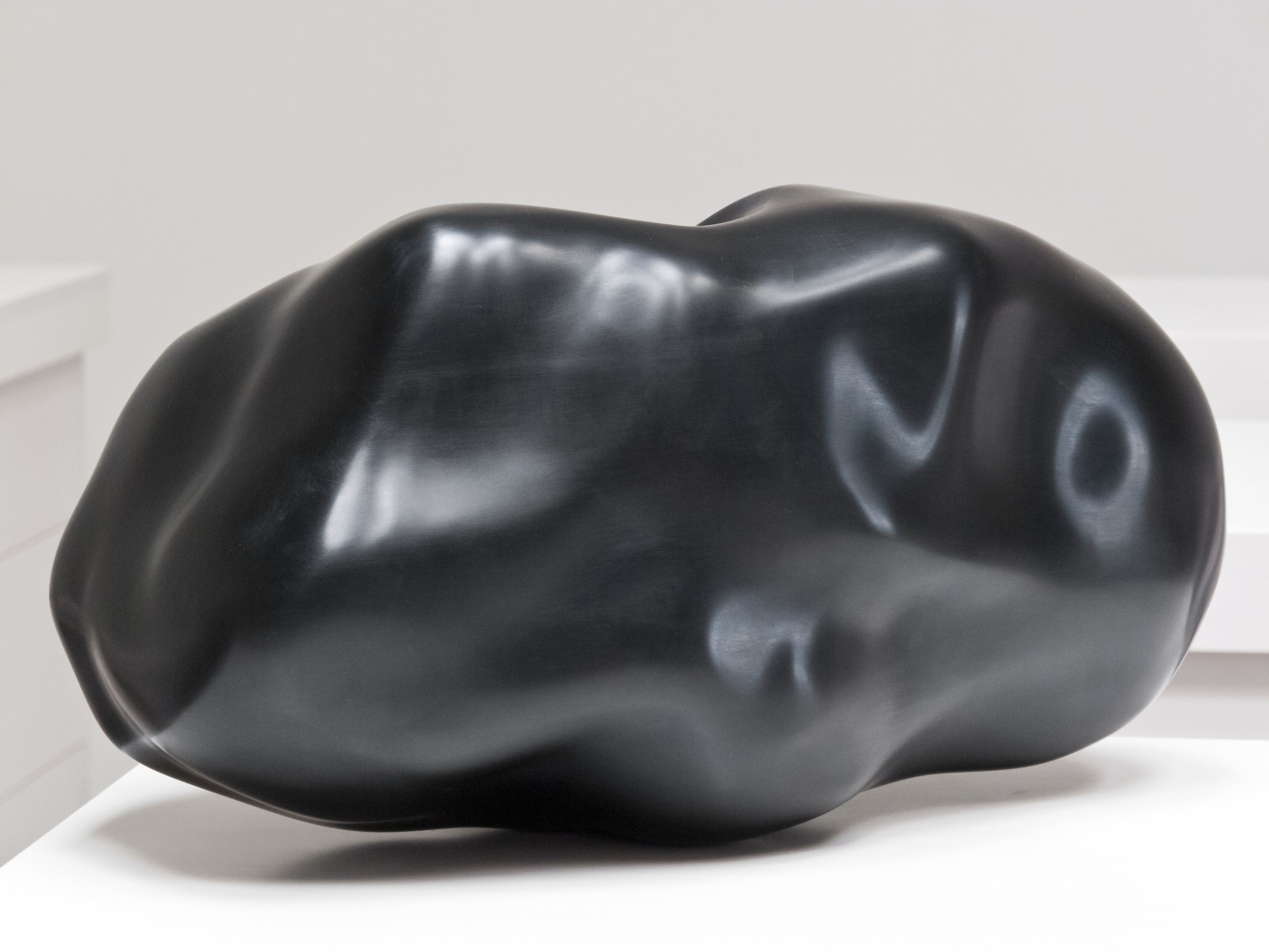 Asteroid (Apophis) , 2012 anodized aluminum 8 x 8 x 16 inches 20.31 x 20.31 x 40.63 cm Edition of 3, with 1 AP