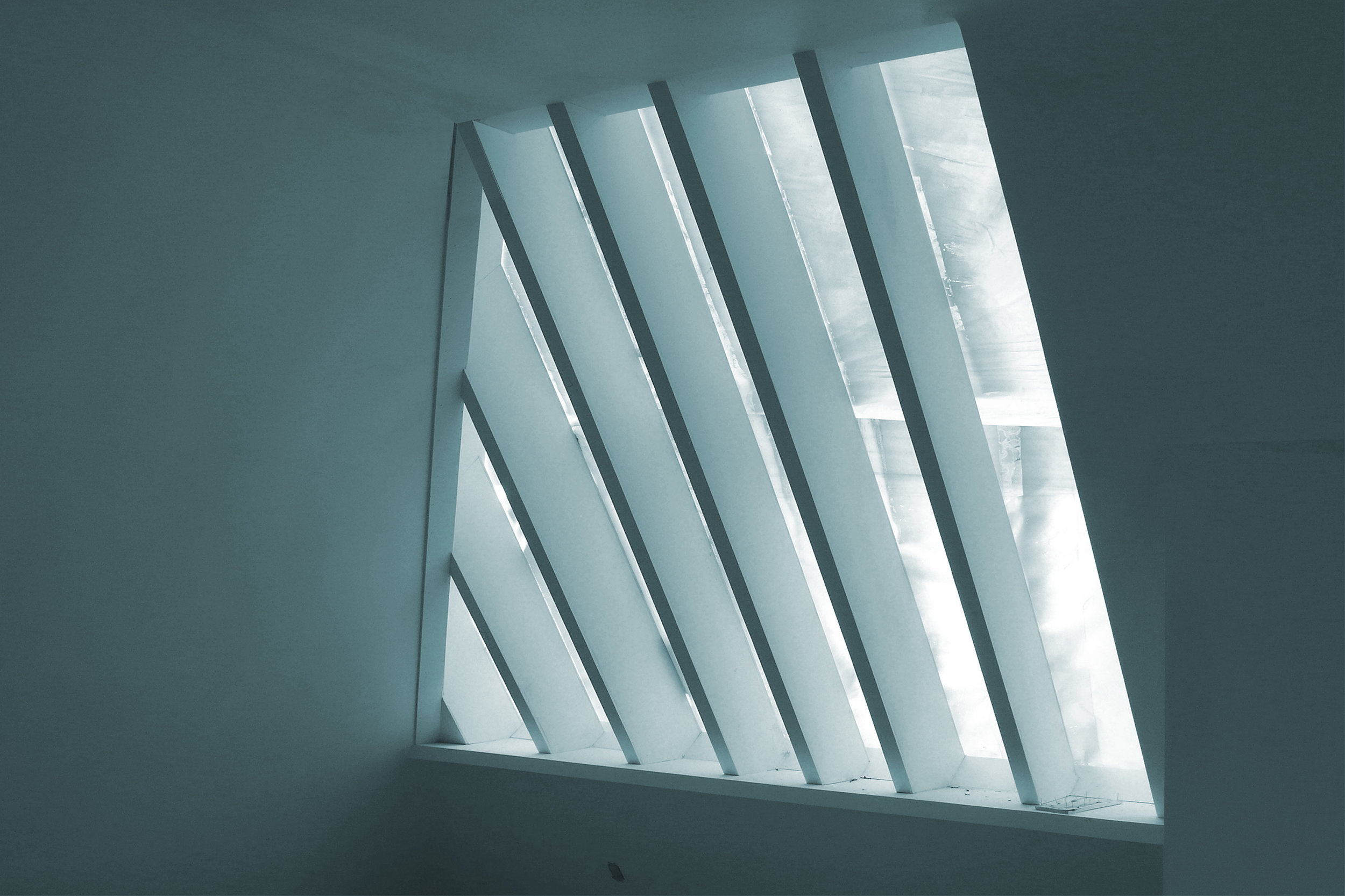 Pine-Tree Window , 2012 silkscreen on glass 43-1/4 x 63-3/4 inches, 110 x 162 cm Edition of 5