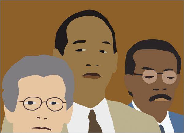 Kota Ezawa,  The Simpson Verdict  (still), 2002